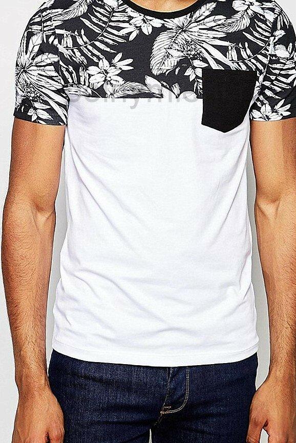 Идеи переделки Стильная мужская футболка Охром