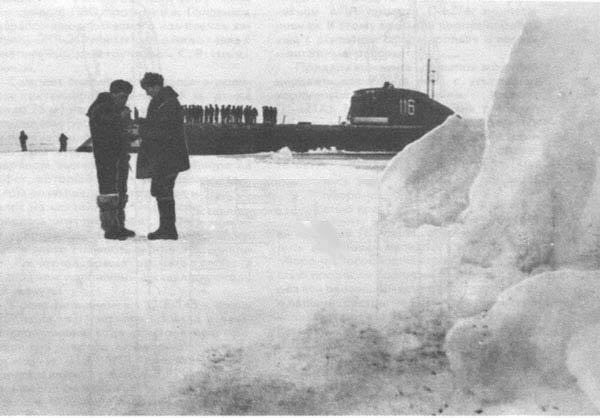 Атомная подводная лодка К-14