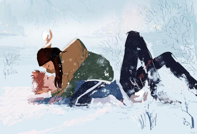 Радоваться первому снегу