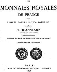 Книга Les monnaies royales de France