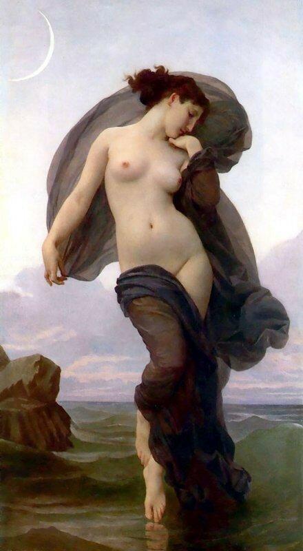 Бугеро. Вечернее настроение, 1882