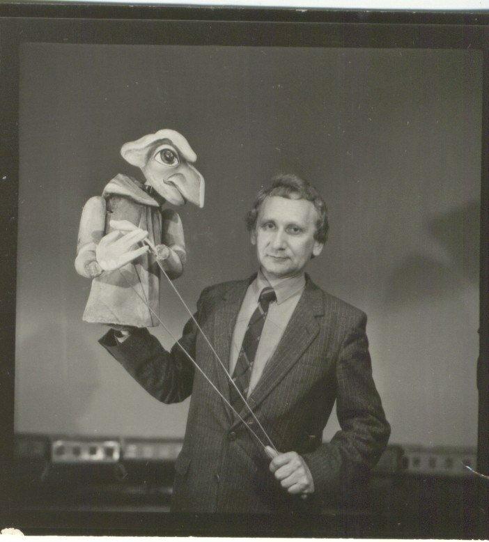 Засл.артист РСФСР Юрий Шелепин(1988) работал в театре кукол с 1966