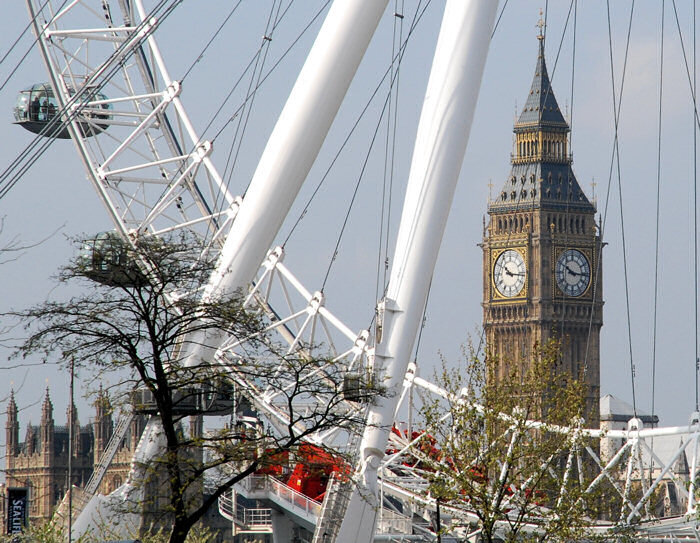 Big Ban & London Eye