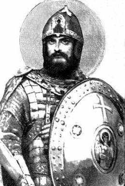 В.Васнецов. Андрей Боголюбский.Эскиз к росписям Владимирского собора