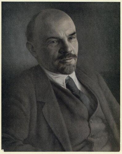 Спасенный портрет Ленина
