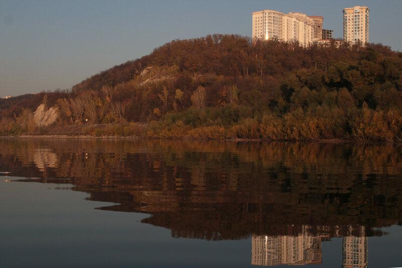 Уфа. Вид с реки Белой