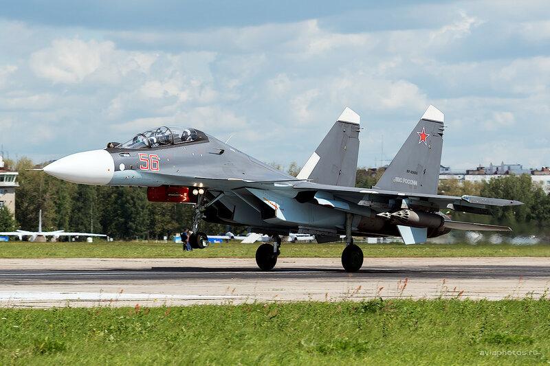 Сухой Су-30СМ (RF-93666 / 56 красный) D800096