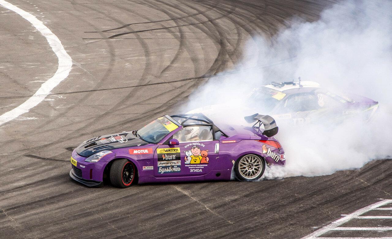 Андрей Пискарев (Nissan S14) vs Андрей Мазин (Nissan 350Z)