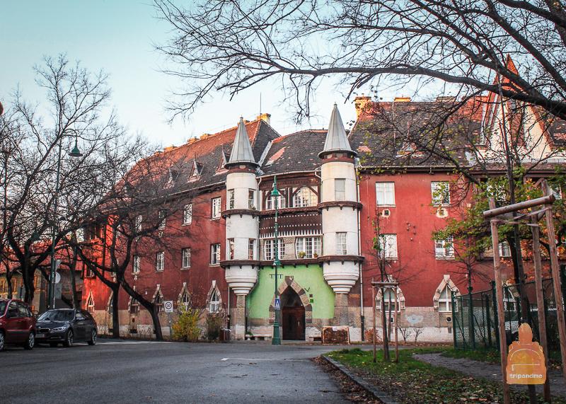Необычные дома в Кишпеште
