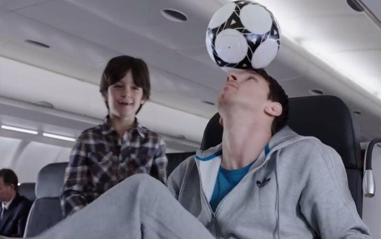 Легендарные спортсмены на борту самолета (видео Turkish Airlines)