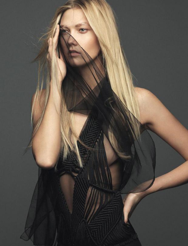 Карли Клосс (Karlie Kloss) в журнале Elle France (5 фото)