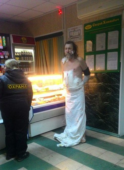 В Хакассии пациент сбежал из реанимации, чтобы купить пива