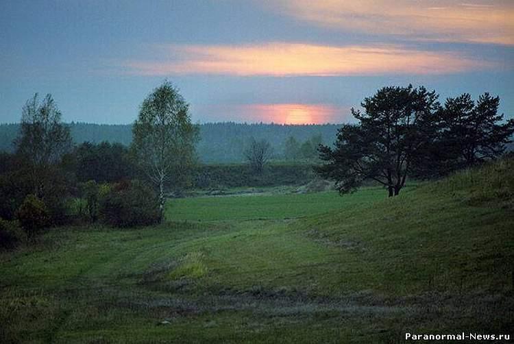Аномальные зоны Псковской области
