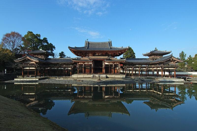 Японские репортажи - Орнаменты крыши знаменитого древнего национального сокровища в Киото были открыты для публики