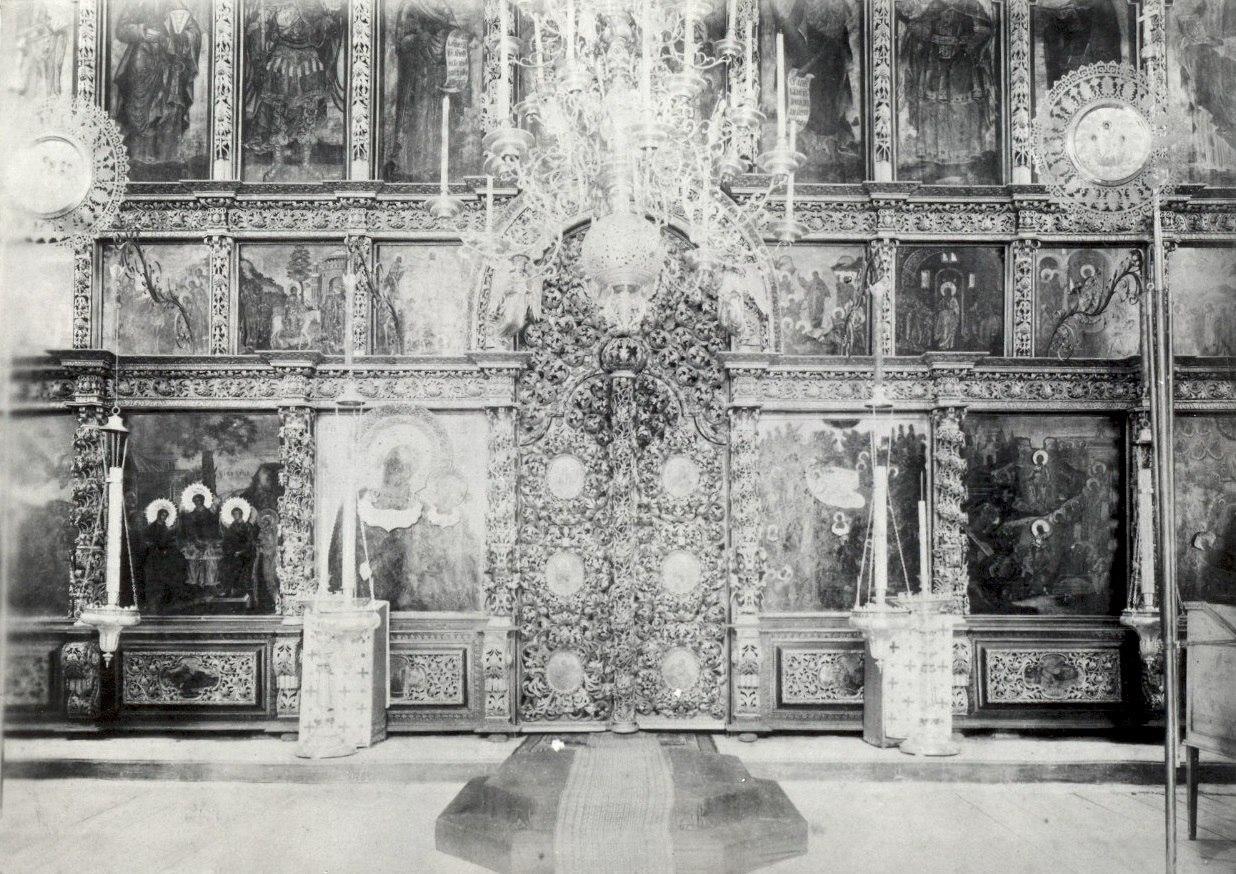 Иконостас собора Рождества Христова