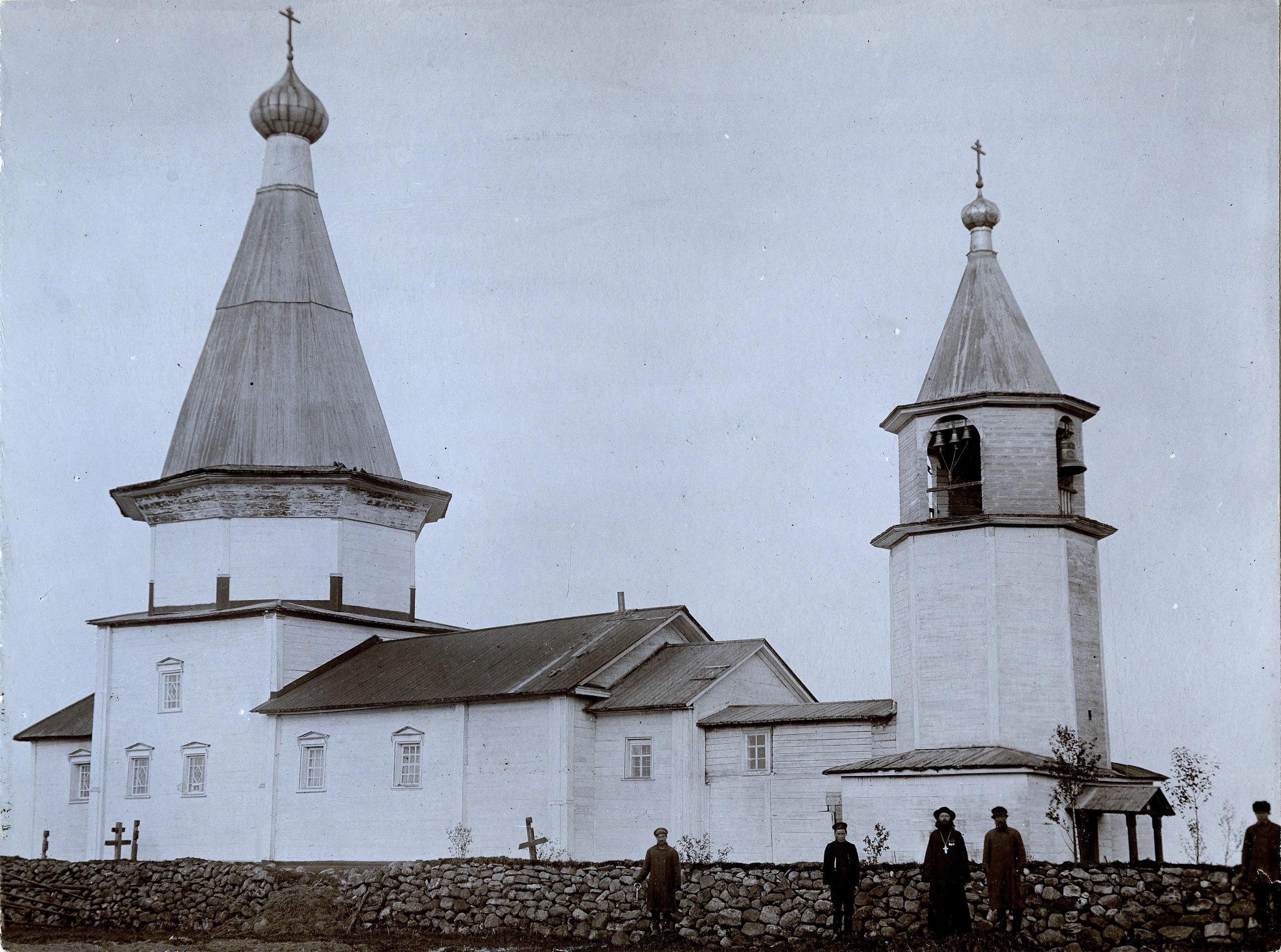Окрестности Каргополя. Чурилово