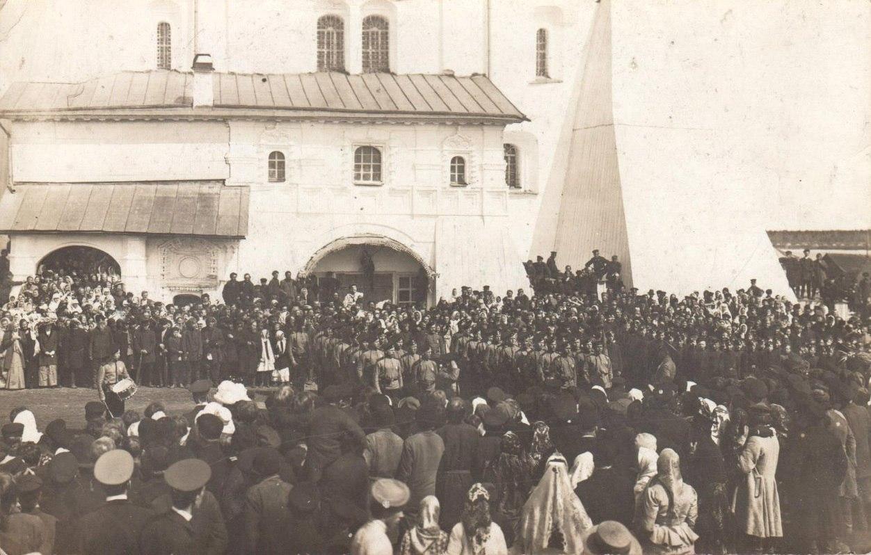 Празднество у Христорождественского собора