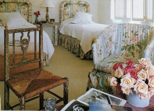 винтаж в спальне