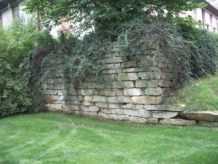интересные решения подпорных стенок