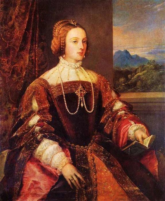 Тициан. Изабелла португальская. 1548