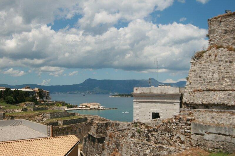 Корфу, Керкира, Вид из Старой Крепости