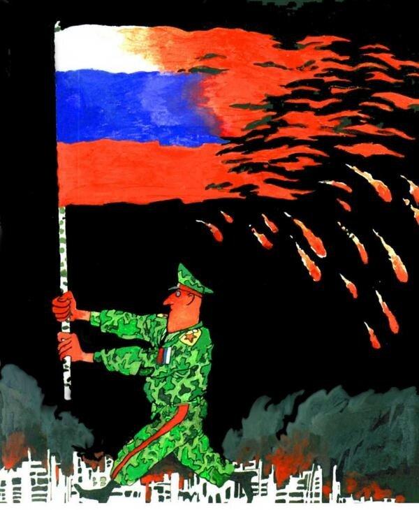 Карикатура, Автор: Марат Валиахметов