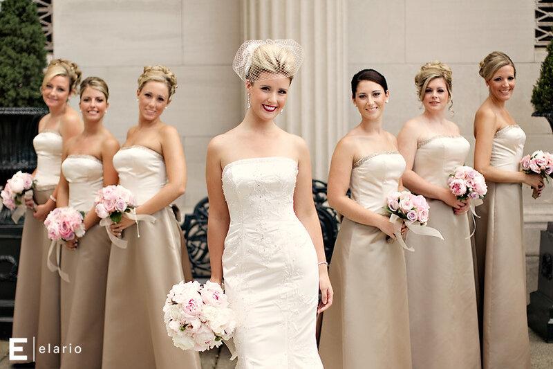 Платья красивые подружки невесты