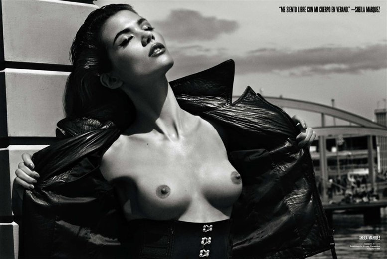 Spanish Models by Txema Yeste - Sheila Márquez