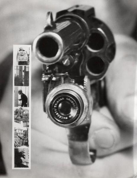 Фоторевольвер, снимающий при нажатии на курок (США, 1938)