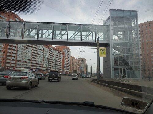 Через стекло на скорости в пасмурную погоду (1)