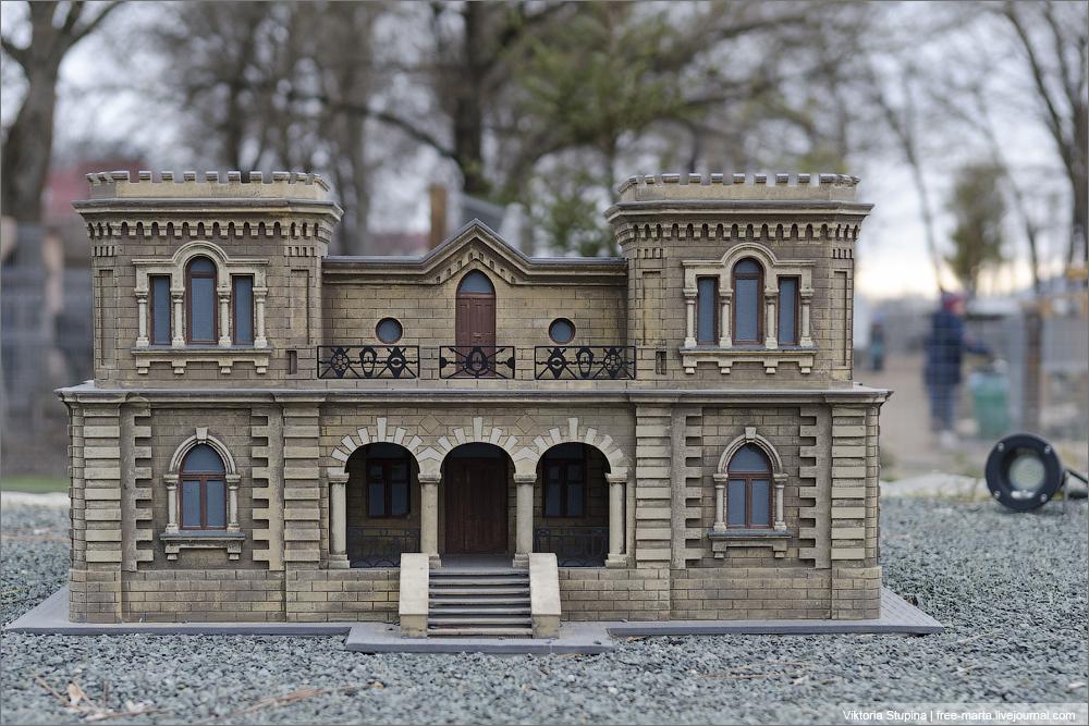 Дом Постникова в Евпатории. Бахчисарай, парк миниатюр.