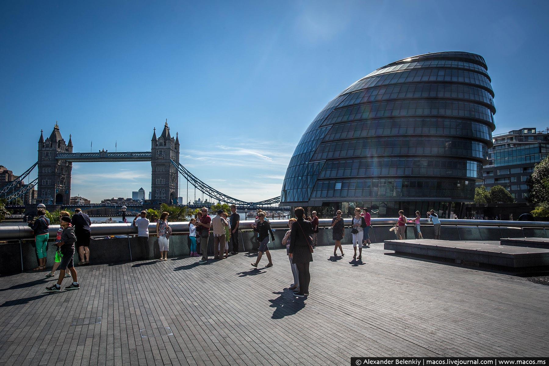 Какой Лондон угробили!
