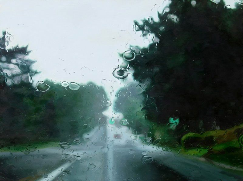 Рисунки дождя Gregory Thielker