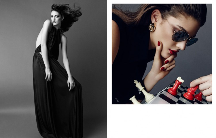 Катрин Крюгер в журнале Harper's Bazaar China