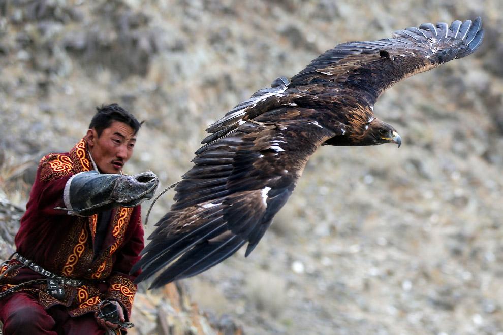 4. С высоты открываются красивые монгольские пейзажи с горами на заднем плане. (Фото Batzaya Choijil