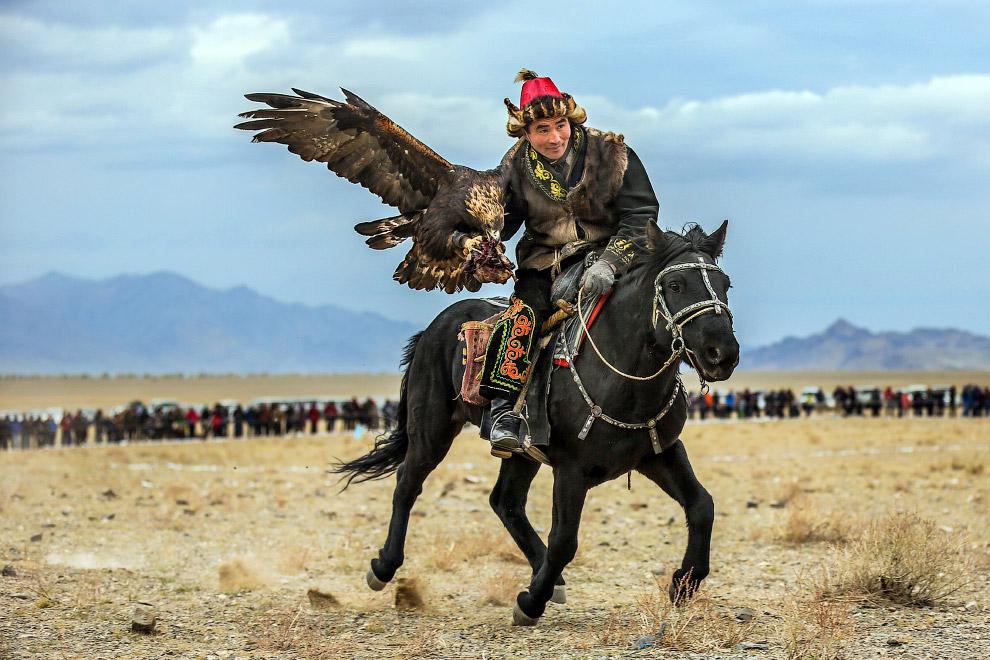 12. Фестиваль «Золотой орел» в Монголии, Октябрь 2015 года. (Фото Batzaya Choijiljav):