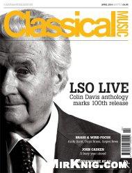 Журнал Classical Music - April 2014