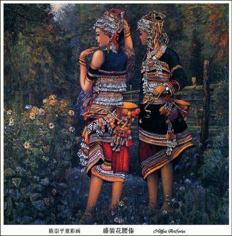 Необычный китайский художник Chen Chong Ping