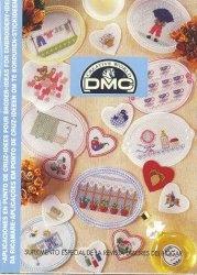 Журнал DMC - Aplicaciones en punto de cruz