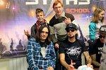 Louna и фанаты на фотосессии в школе рока Rock Stars School в Кирове