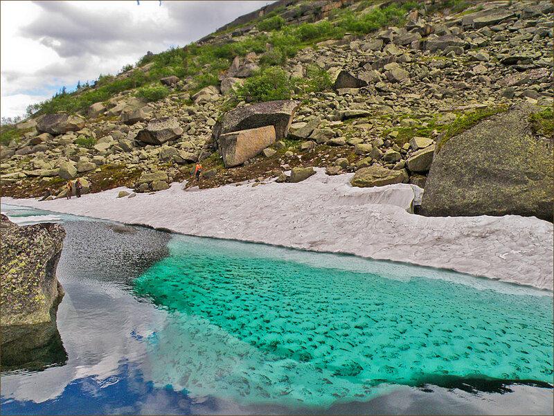 Ергаки. Озеро Гармония