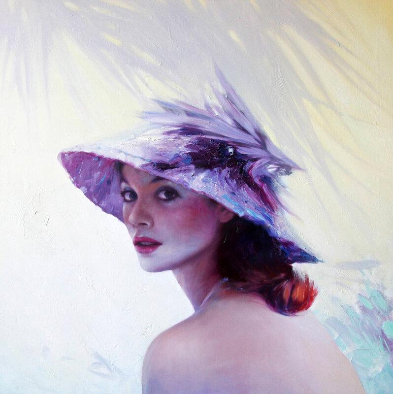 Хочу я очень быть красивой, такой красивой - чтоб свести тебя с ума... Художник Viatcheslav Plotnikov