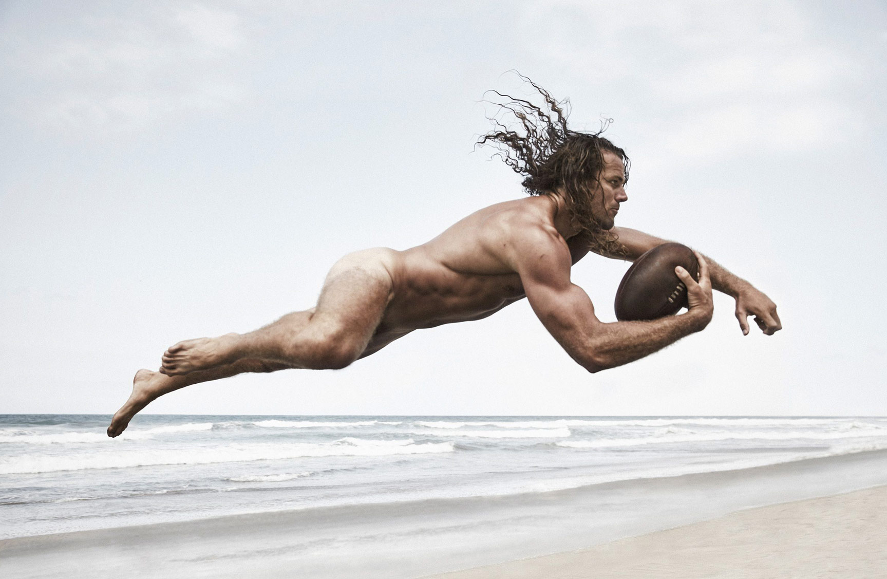 ESPN Magazine The Body Issue 2015 - Todd Clever / Тодд Клевер - Культ тела журнала ESPN