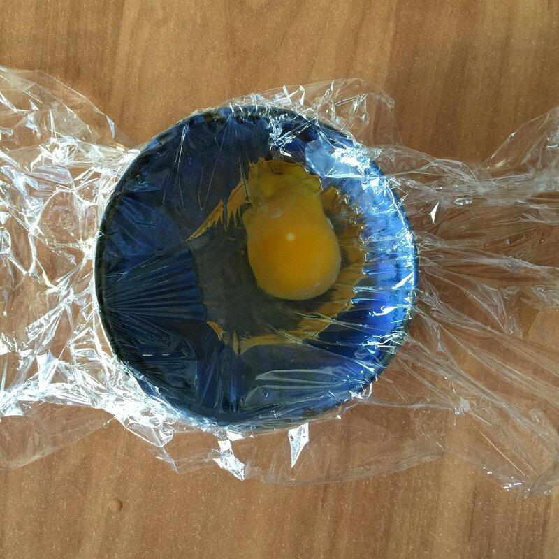 Яйцо в пакете