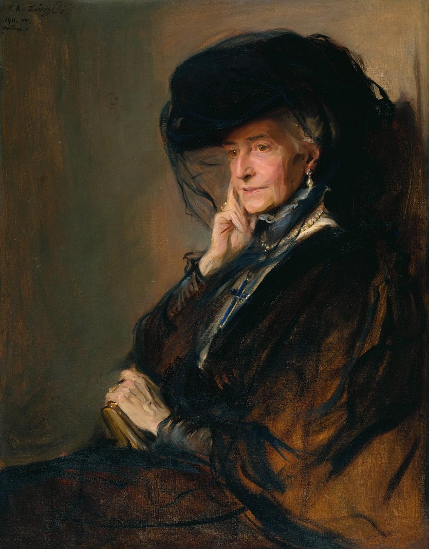 Lady Wantage 1911 by Philip Alexius de LГЎszlГі 1869-1937