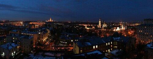 Утренняя панорама Москвы