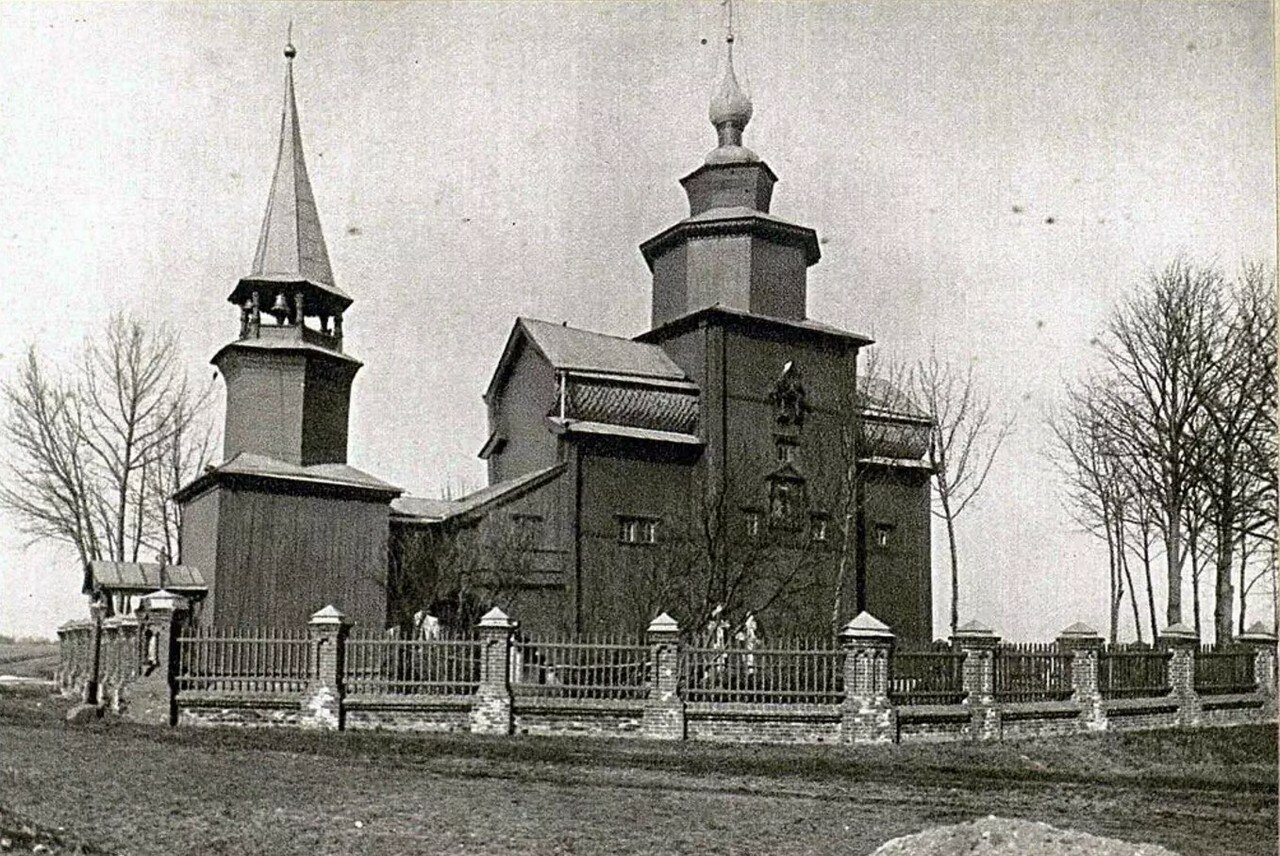 Окрестности Ростова Великого. Церковь Иоанна Богослова на Ишне. 1687
