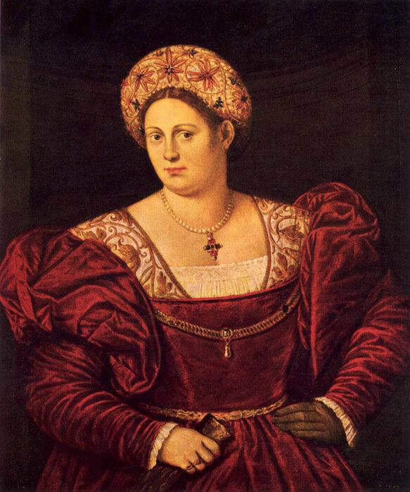 Bernardino Licinio: Portrait of a Lady, 1533