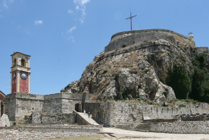 Корфу, Старая Крепость Керкиры