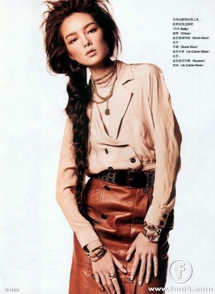 фотомодель модели мода красота backstage  Китайские модели Фей Фей Сан и Мин Си
